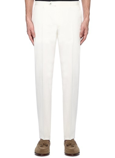 Corneliani Pantolon Beyaz